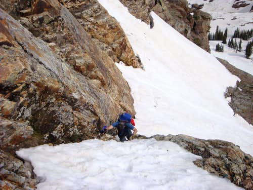 Crazy Man Couloir - Sundial Peak