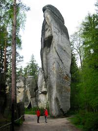 2010 May Adršpašské skalní město