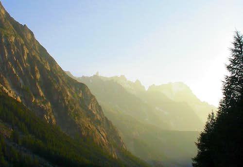Val Veny at dawn