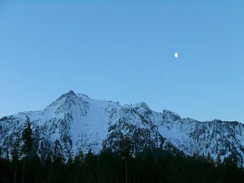 Pre-dawn view of Whitehorse...