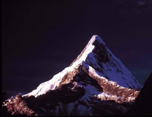 Artesonraju (6025m) from...