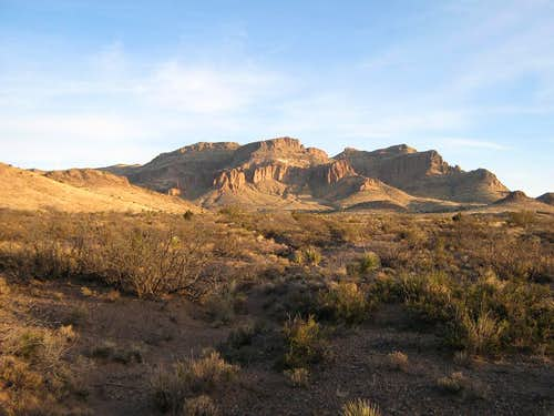 Peloncillo Mountain