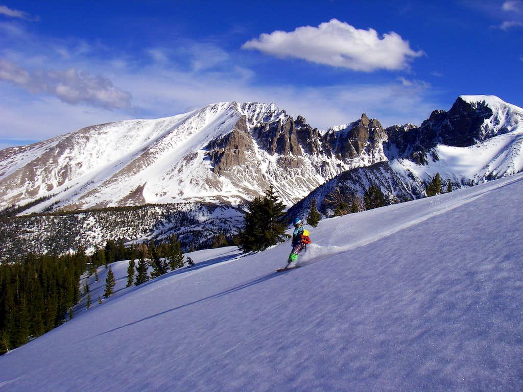 Troy skiing Bald Mountain