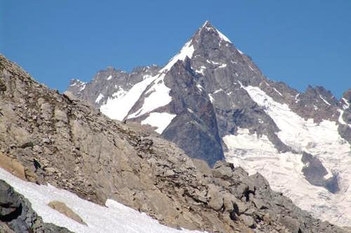 Mount Dolent from ....