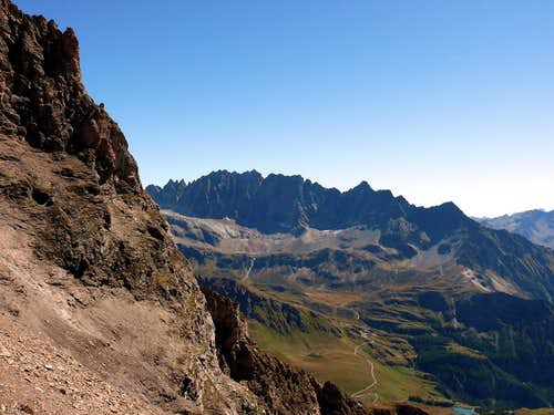 Views of the Mont Morion Range