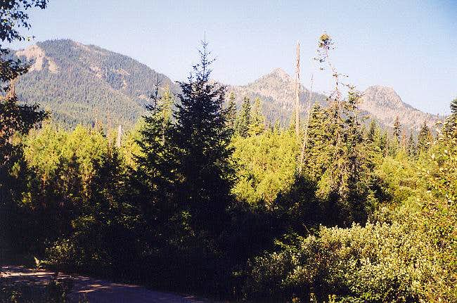 NE Route to Main Summit
