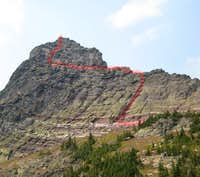 West Face Route