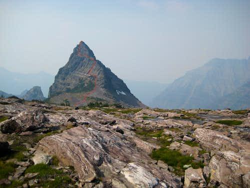 West Face Route
