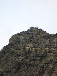 Traversing West Face