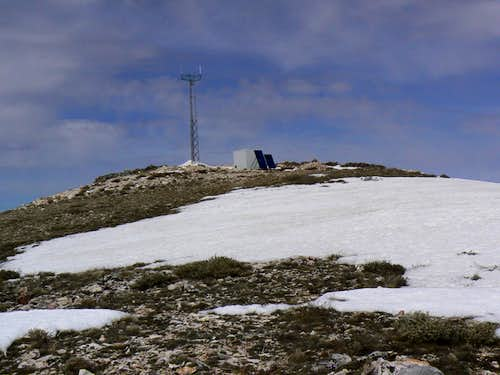 The Summit of Buckskin Mountain