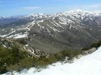 Buckskin Mountain West Face from South Summit