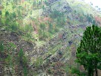 mountain near abbottabad