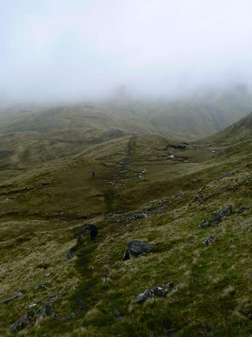 Descending from Luinne Bheinn