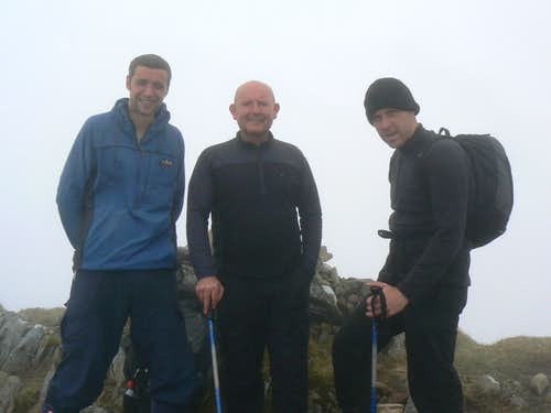 On the summit of Luinne Bheinn