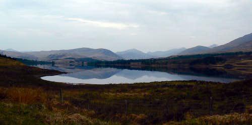 Reflective Loch Tulla