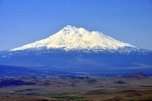 Mount Shasta from the summit