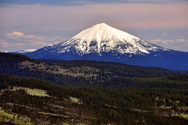 Mount McLoughlin from the summit