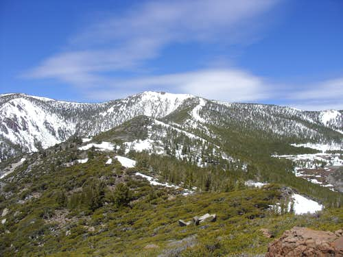 Ridge to Mount Snowflower