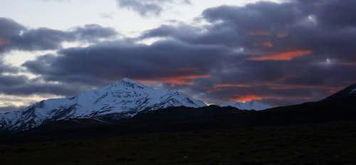 Sunset on Santa Rosa Peak