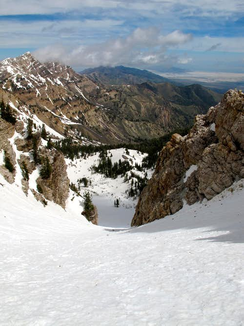 Eastern Twin Couloir