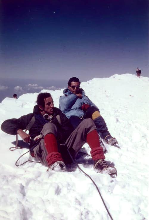 <font color=blue> MOUNT BLANC Brenva Just  Rest up MONSTER Back</font></b> 1969