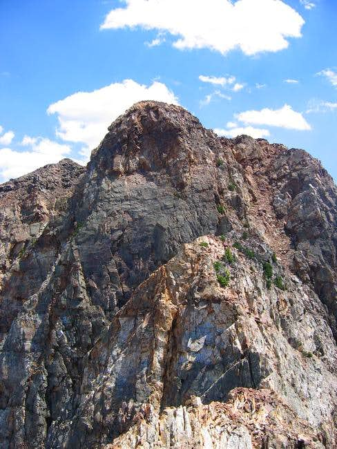 The west face of Monte...
