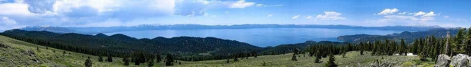 South Camp Peak Summit Panorama