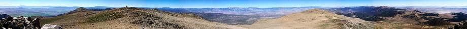 Mt Siegel Summit Panorama