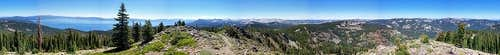 Ellis Peak Summit Panorama