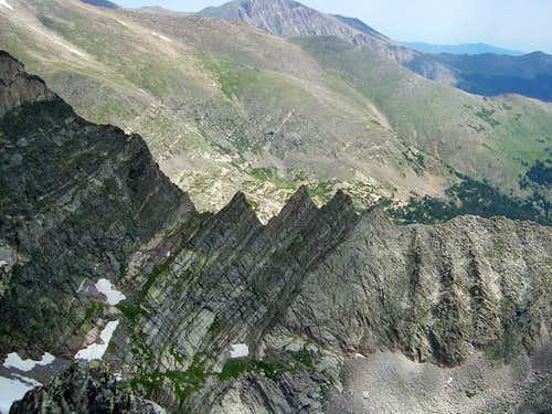 View of Blitzen Ridge's
