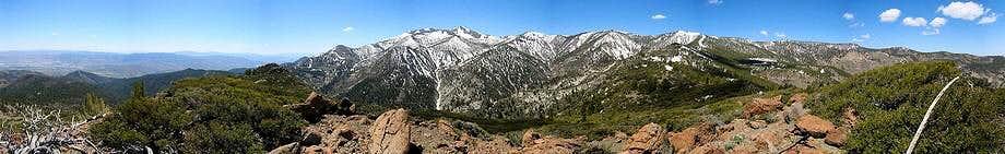 Alpine Walk Peak Summit Panorama