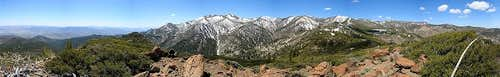 Alpine Walk Peak Summit Panorama