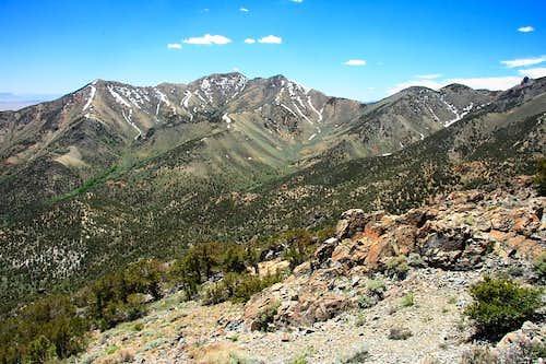 Descending the ridge