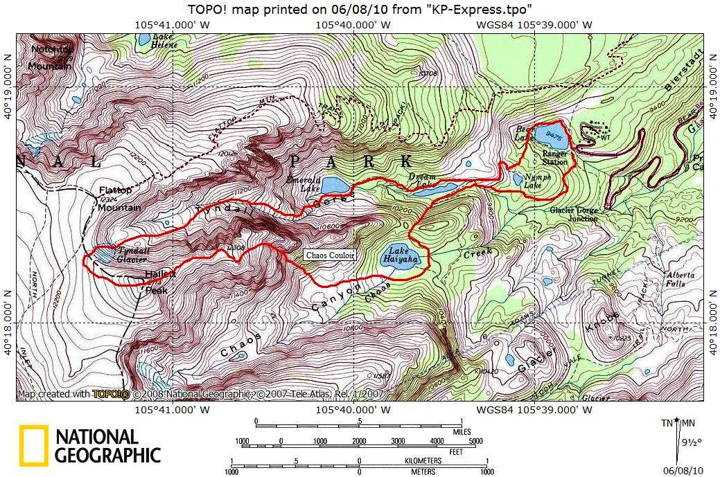 Route Maps and Topos