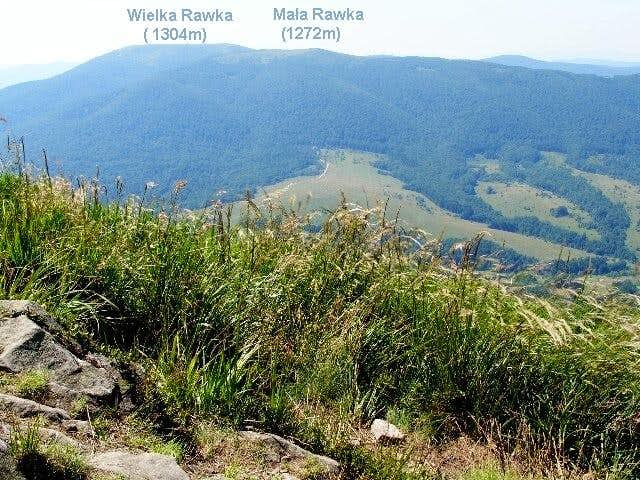 Big (1304 m) and Small (1272 m) Rawka Massive