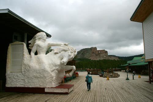 Crazy Horse Sculptures