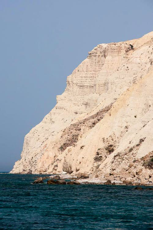 Chalk Cliff near Cape Aspro