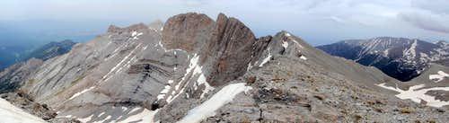 Mount Olympus Panorama