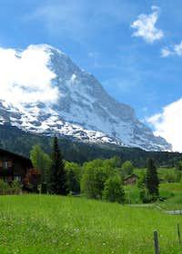 Eiger From above Grund