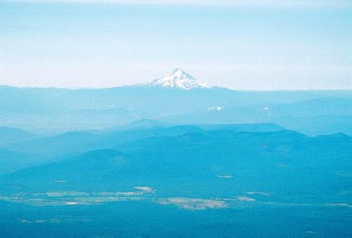 Mt. Hood as seen from Mt....