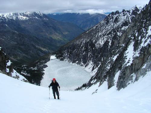 Views from Colchuck Glacier