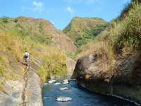 Pinatubo: Entering rough country