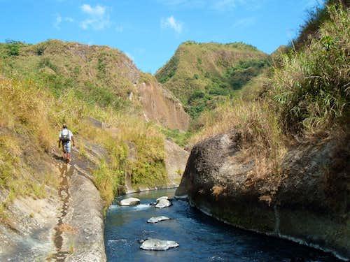 Pinatubo: Entering rough country