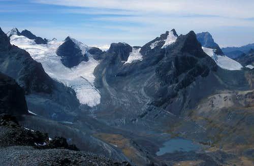 Tarija glacier
