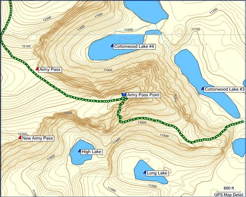 Army Ridge Route