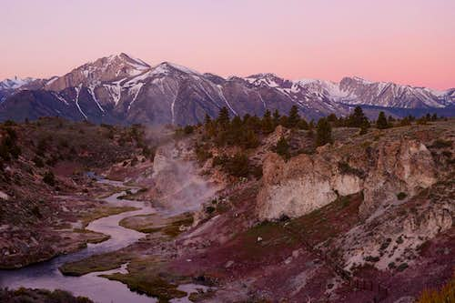 Hot Creek at Dawn 1