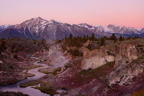 Hot Creek at Dawn 1