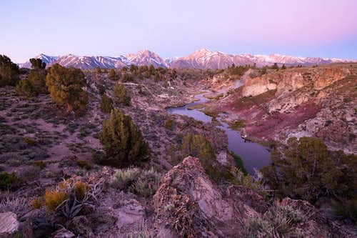Hot Creek at Dawn 2
