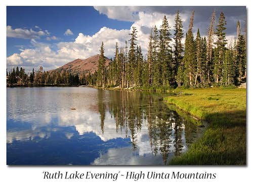 Ruth Lake Evening