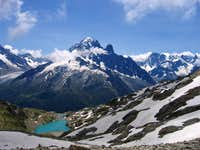 Lac Blanc and Aiguille Verte
